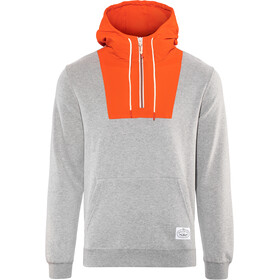 POLER Bag-IT Hoodie Men grey heather